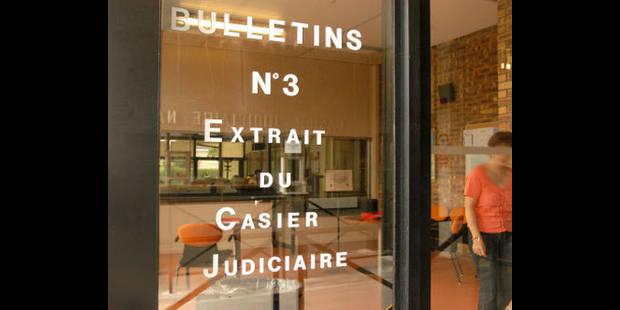 casier judiciaire central bruxelles