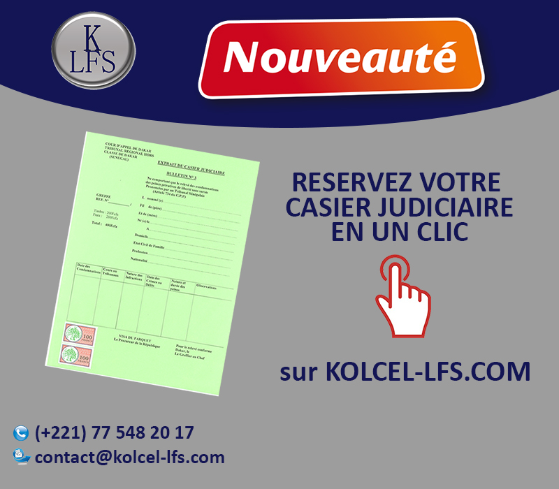 casier judiciaire contact