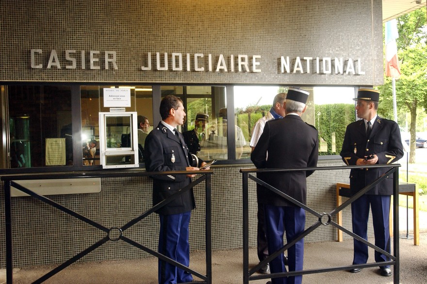 casier judiciaire gendarme
