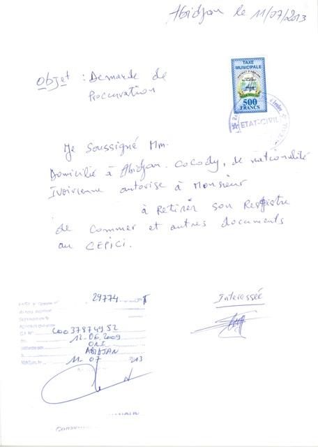 casier judiciaire maroc procuration