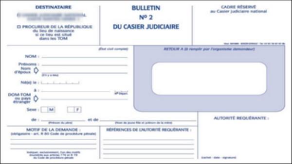 demande casier judiciaire en algerie