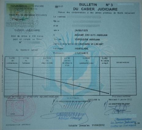 demande casier judiciaire en ligne algerie