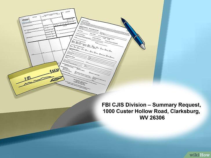 demande casier judiciaire fbi