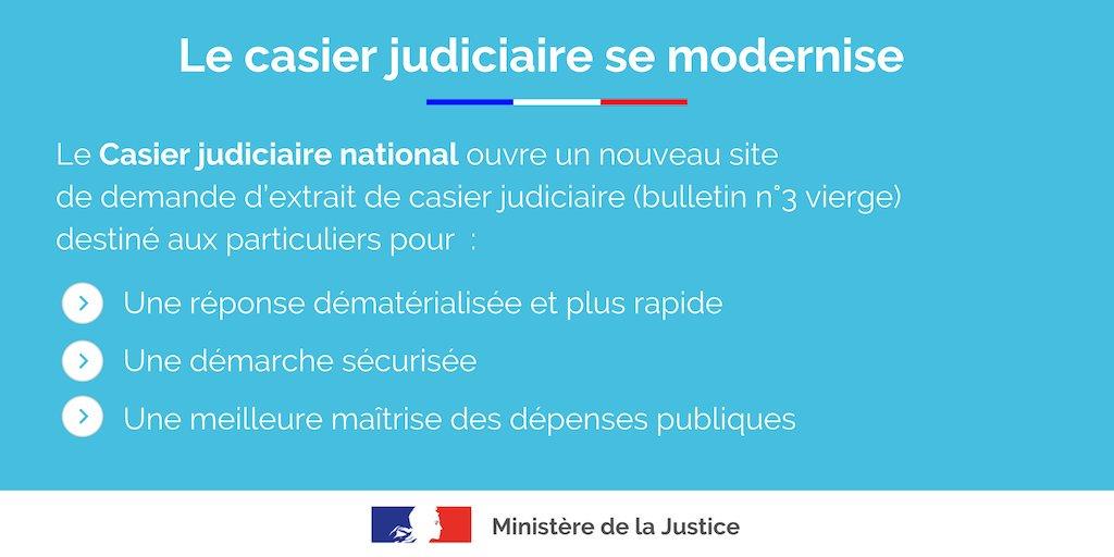 demande casier judiciaire gouv fr