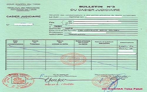demande extrait casier judiciaire maroc