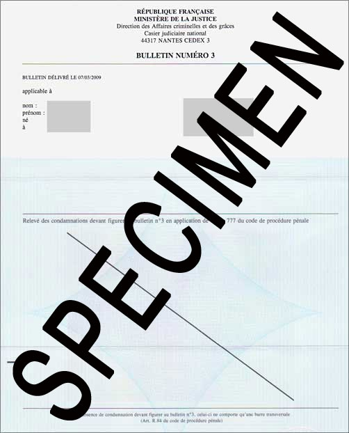 demande extrait casier judiciaire valais