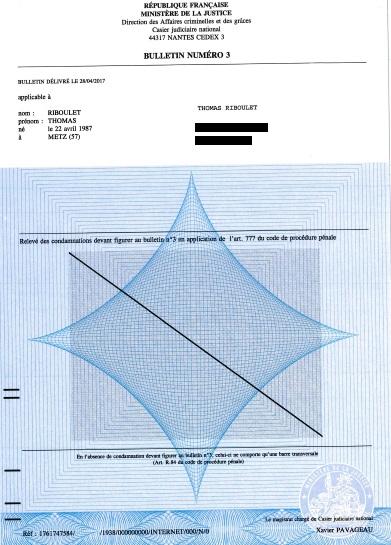 demande extrait casier judiciaire vaud