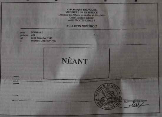 extrait casier judiciaire haiti