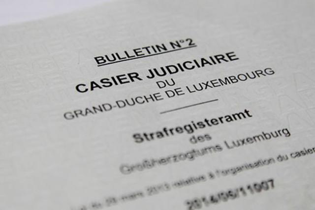 extrait casier judiciaire luxembourg horaires