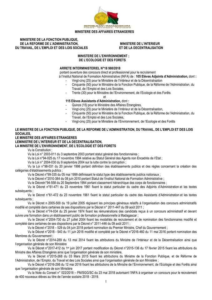 extrait casier judiciaire madagascar