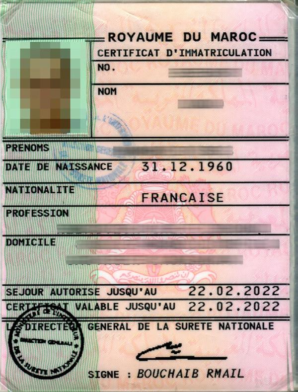 extrait casier judiciaire marocain consulat