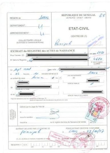 casier judiciaire consulat maroc
