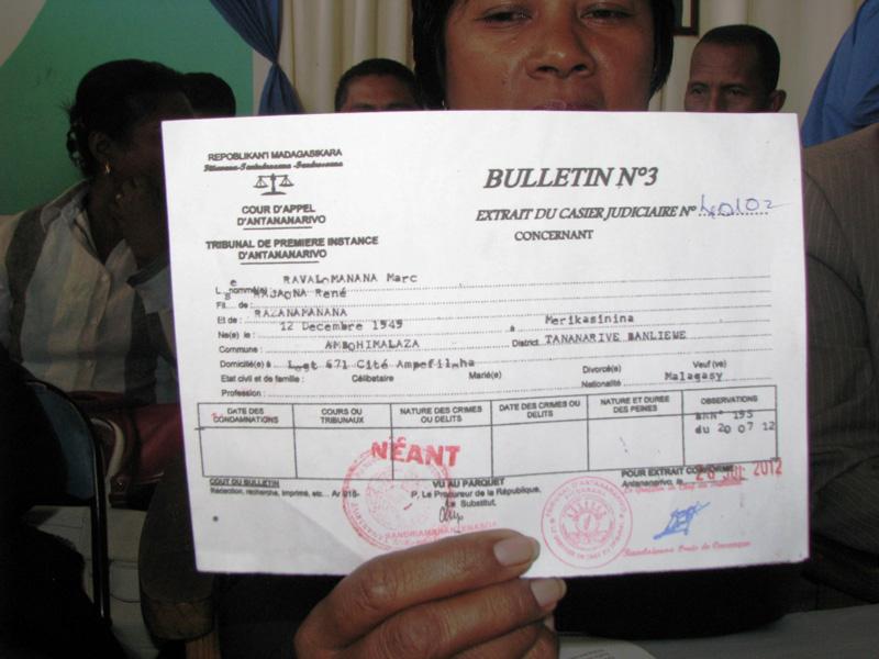 demande casier judiciaire n 3 pour etranger