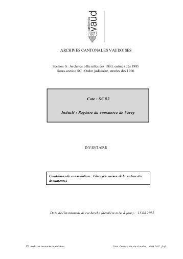 extrait casier judiciaire vevey